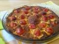 clafoutis tomates cerises et thym