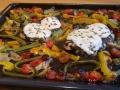 escalopes de dinde gratinées sur plaque 1