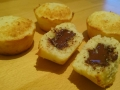 muffins coco et chocolat
