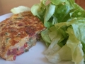 tortilla de légumes au chorizo