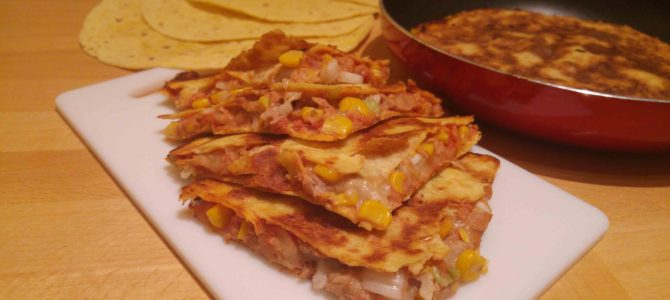 Quesadillas apéritives