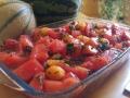 brochettes de pastèque et melon au barbecue 1
