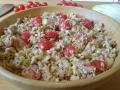 salade d'endives et saumon vinaigrette gribiche