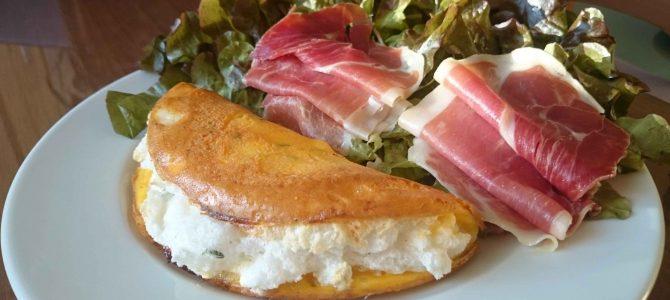 Omelette, façon mère Poulard