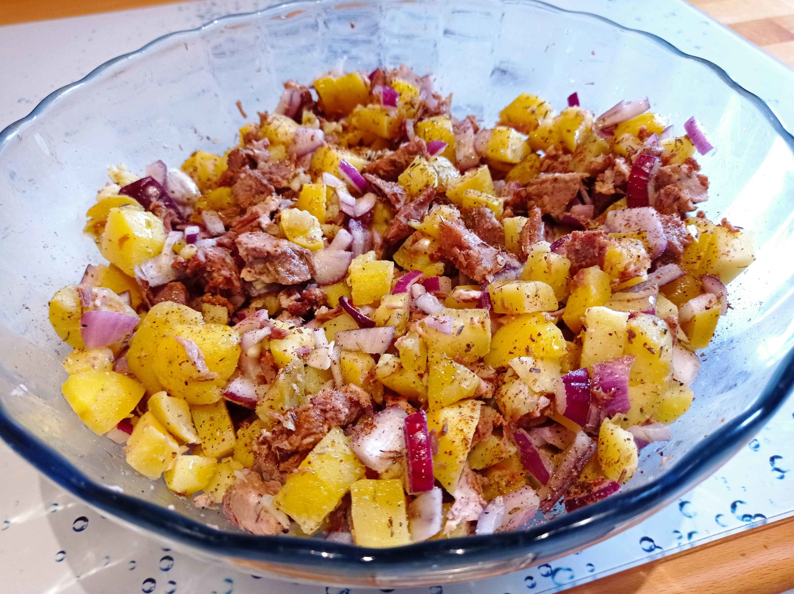 Salade de boeuf cuit